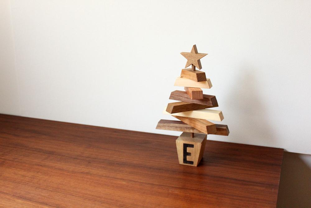 木製 クリスマスツリー ワークショップ Christmas-tree4